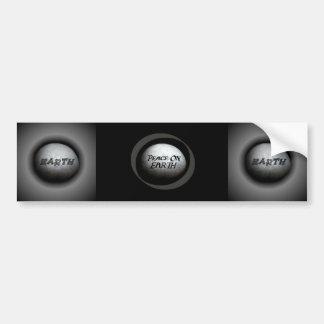 Planet Earth Model Bumper Sticker