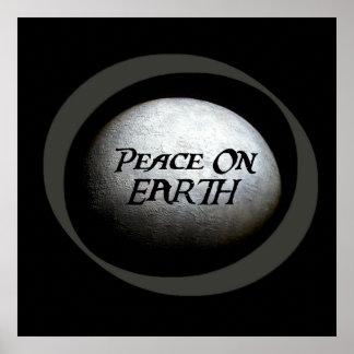 Planet Earth Model Poster