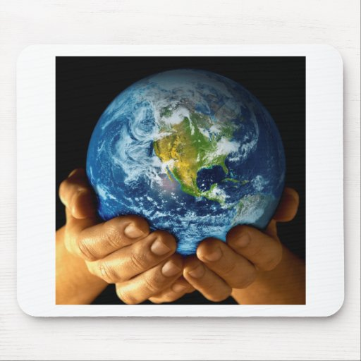 Planet  earth mouse pads