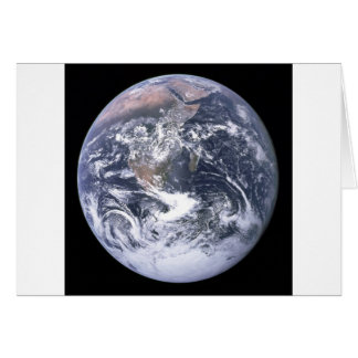 Planet Earth - Our World Card