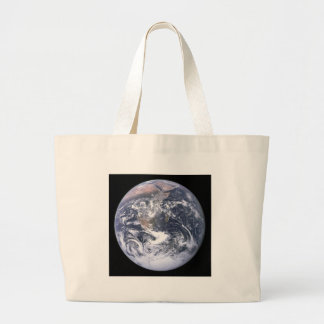 Planet Earth - Our World Large Tote Bag