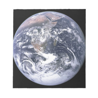Planet Earth - Our World Notepad