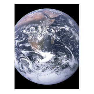 Planet Earth - Our World Postcard