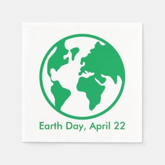 Planet Earth Paper Napkin