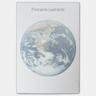 Planet Earth Post-it Notes