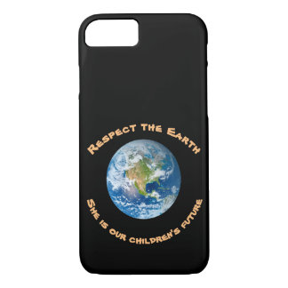 Planet Earth Respect Future iPhone 8/7 Case