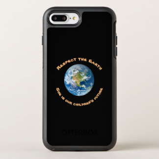 Planet Earth Respect OtterBox iPhone 7 Plus Case