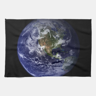 Planet Earth Space Photo Kitchen Towel