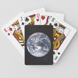 Planet Earth Starry Sky Playing Cards