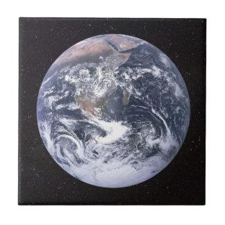 Planet Earth Starry Sky Tile