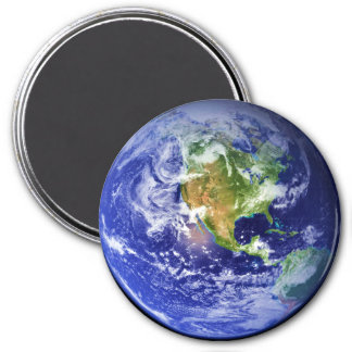 PLANET EARTH v.3 (solar system) ~ 3 Inch Round Magnet
