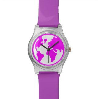 Planet Earth Wristwatch