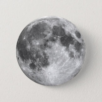 PLANET EARTH'S MOON (solar system) ~ 2 Inch Round Button