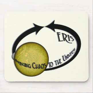 Planet Eris Bringing Chaos To The Universe Mouse Pad