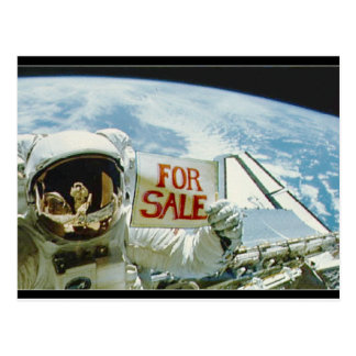 Planet For Sale Post cards