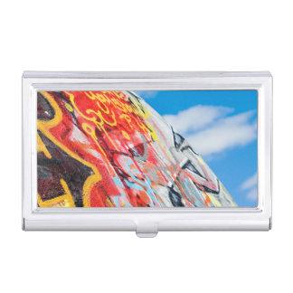 planet graffiti business card holder