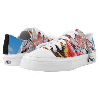 planet graffiti Low-Top sneakers