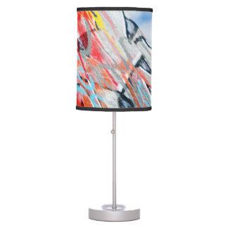 planet graffiti table lamp