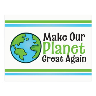 Planet Great Again Postcard