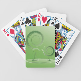 planet green bicycle playing cards