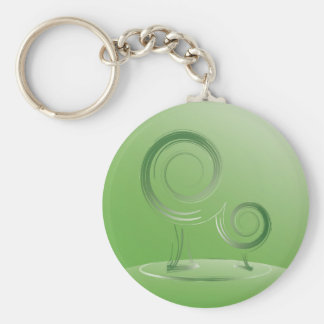 planet green keychain