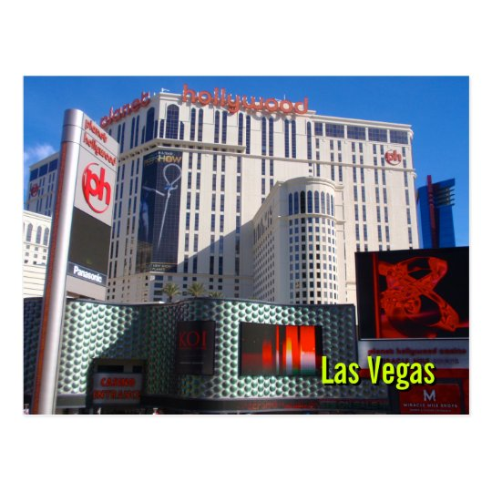 Planet Hollywood, Las Vegas Postcard