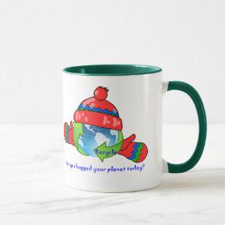 Planet Hug Recycle Ringer Mug