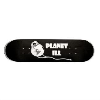 Planet Ill White Globe Skateboard Deck