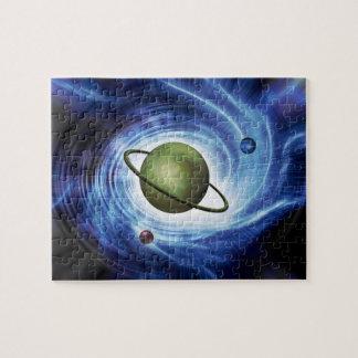 Planet in a Vortex Puzzle