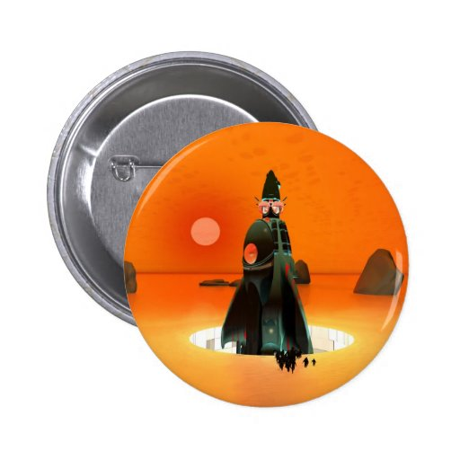 Planet Inferno Launch Button