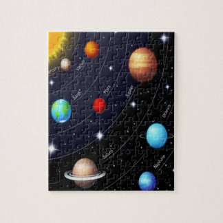 Planet Jigsaw Puzzle