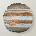 Planet Jupiter Round Pillow
