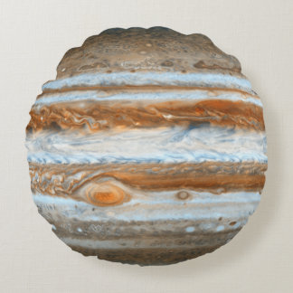 Planet Jupiter Round Pillow