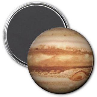 PLANET JUPITER (solar system) ~ 3 Inch Round Magnet