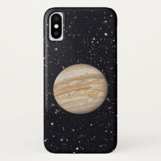 Planet Jupiter Starry Sky iPhone X Case