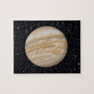 Planet Jupiter Starry Sky Jigsaw Puzzle
