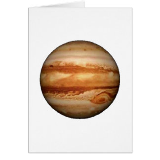 PLANET JUPITER v.3 (solar system) ~ Card