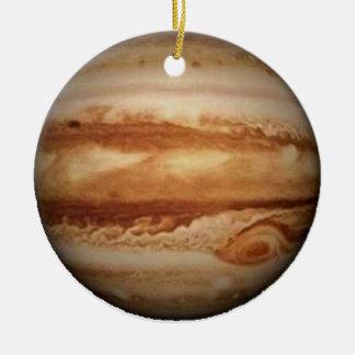 .PLANET JUPITER v.3 (solar system) ~ Round Ceramic Ornament