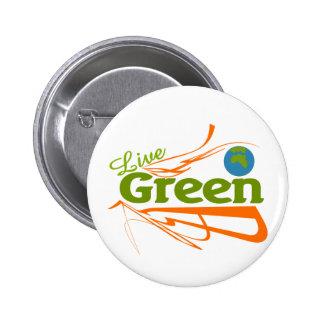 planet live green pin