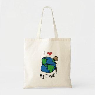 Planet Love 2 Tote Bag