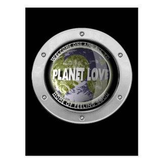 Planet Love Postcard