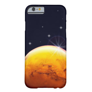 Planet Mars Cell Phone Case