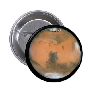 Planet Mars Pinback Buttons