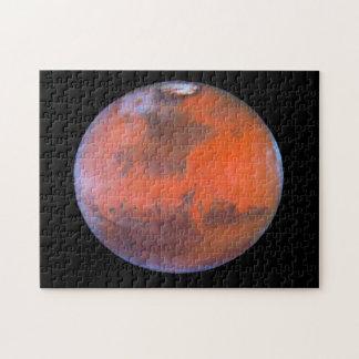 Planet Mars . Puzzles