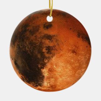 PLANET MARS (solar system) ~ Round Ceramic Ornament