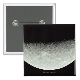 Planet Mercury 2 Inch Square Button