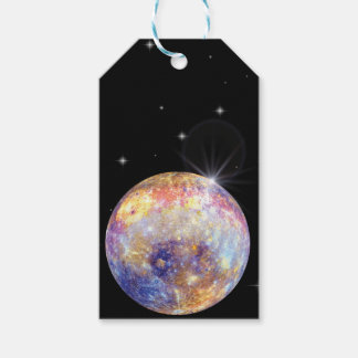 Planet Mercury Gift tags