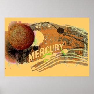 Planet Mercury Poster