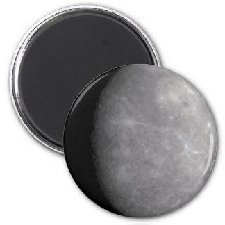 Planet Mercury Round Magnet