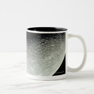 Planet Mercury Two-Tone Coffee Mug